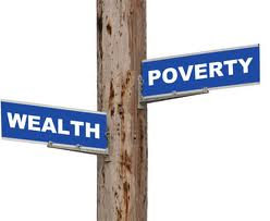 wealth poverty