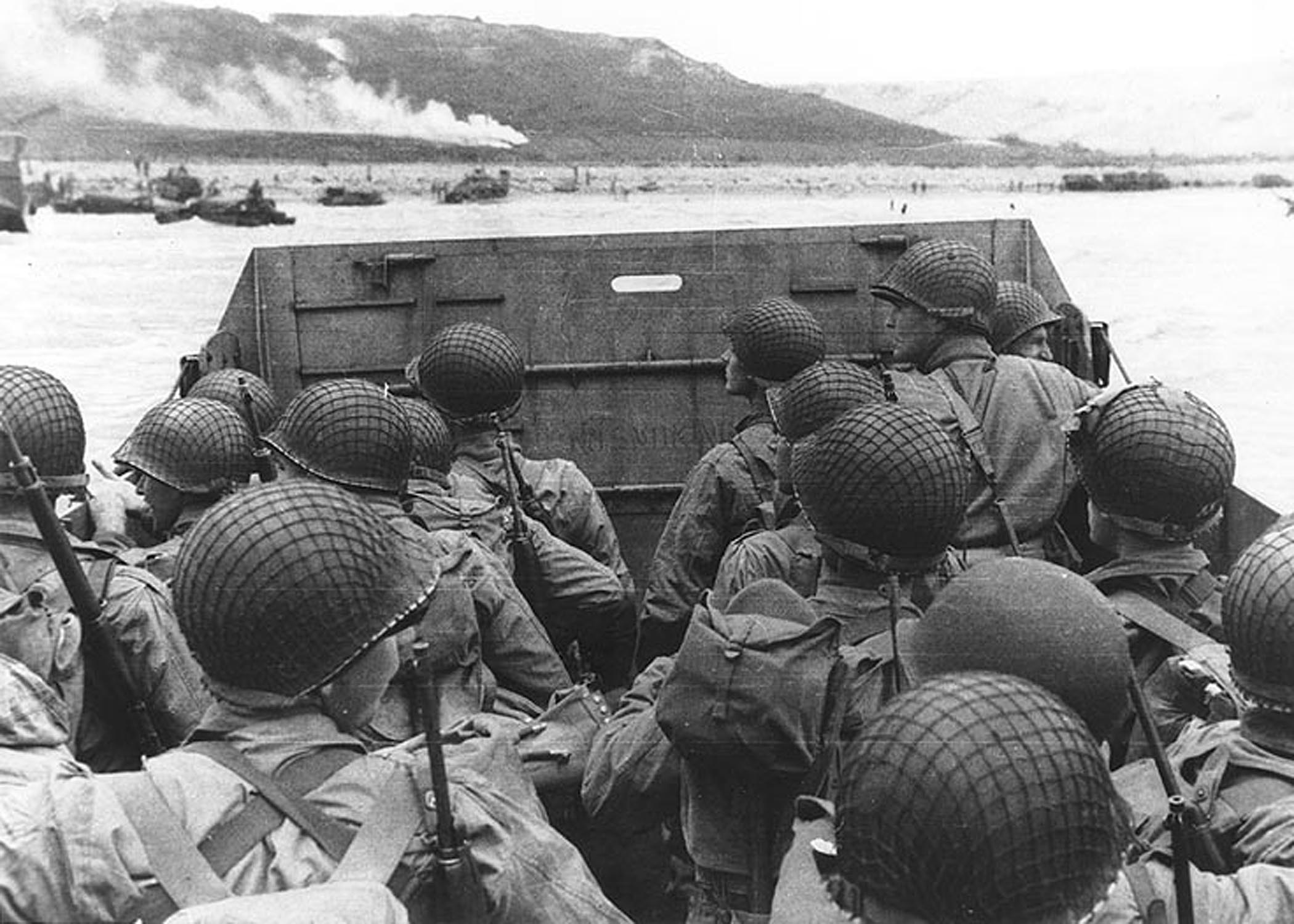 Deployed service members reflect on  D-Day